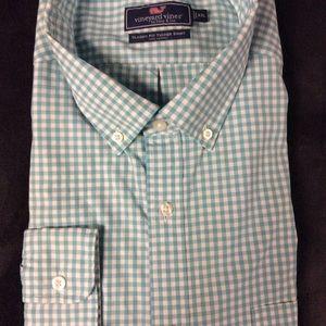 Men's Vineyard Vines Classic Fit Tucker Shirt XXL
